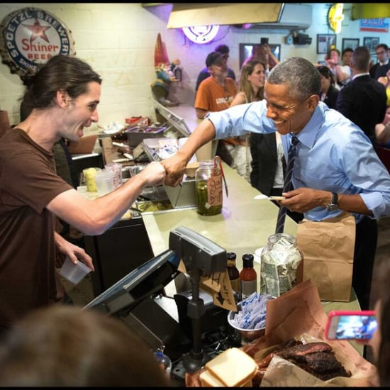 Barack Obama Fist-Bumps Gay Food Worker