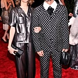 Two pantsuits are better than one! Sofia Coppola showed up with pal Marc Jacobs.