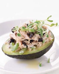 Fast & Easy Dinner: Fresh Tuna Salad with Avocado