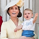 Prince Louis's Outfit At Trooping the Colour in 2019