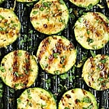 Vegan: Grilled Lemon Garlic Zucchini