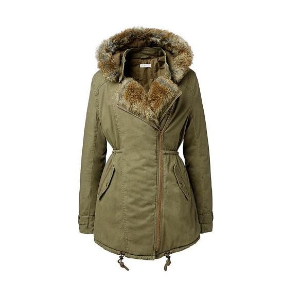 Every wardrobe should contain an anorak of some sort, and this fur-topped khaki version will be a lifesaver when the weather changes. Anorak, $149.95, Seed