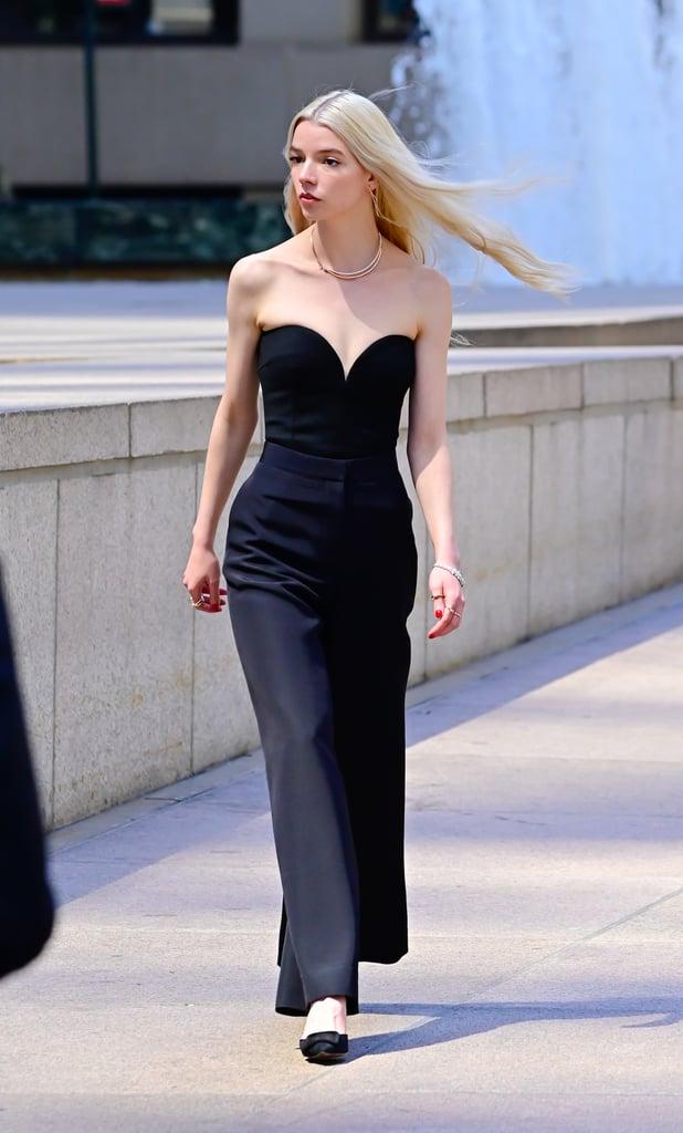 See Anya Taylor-Joy's Chic Look For a Tiffany & Co. Ad in NY