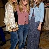 Mary-Kate and Ashley Olsen Spend a Stylish Night With Emma, Nicole, and Dakota