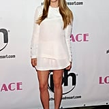 Amanda Seyfried was white hot at the Las Vegas Lovelace premiere in a minimalist design.