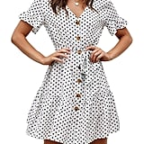 Yingkis Polka Dot Dress