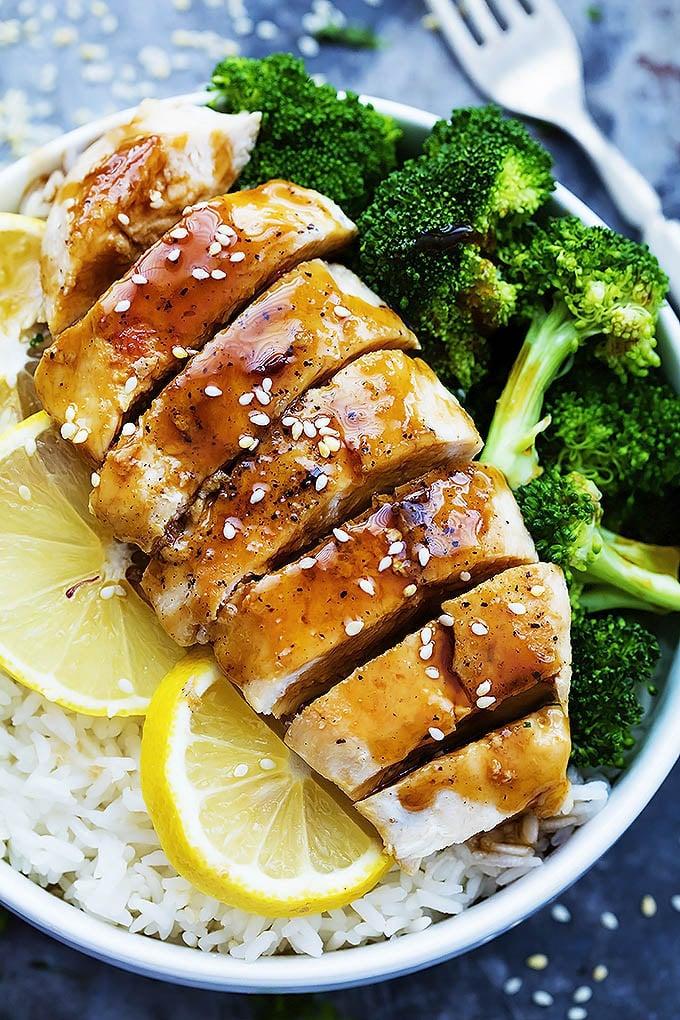 Lemon Teriyaki Chicken | Boneless Skinless Chicken Breast ...
