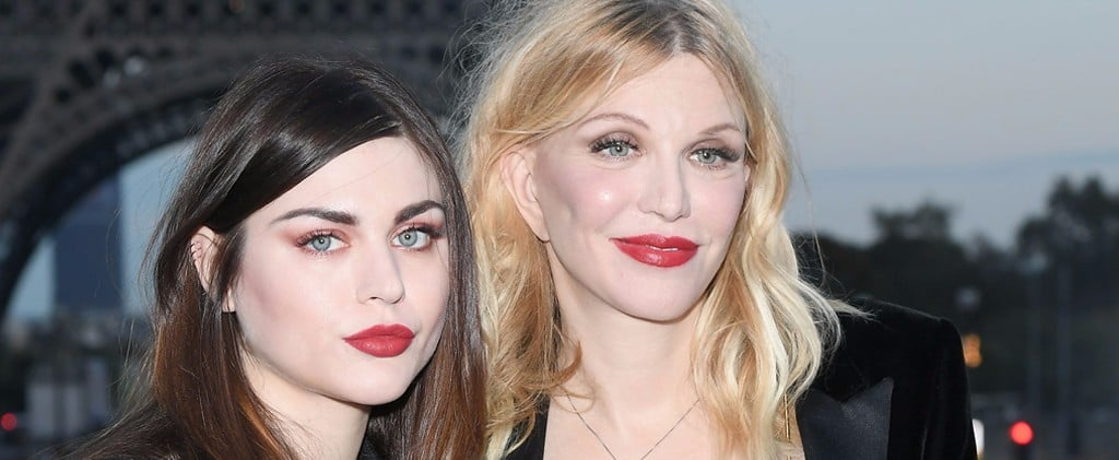 Courtney Love and Frances Bean Cobain Were Basically Twins at Paris Fashion Week