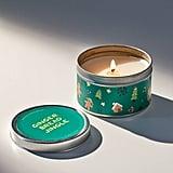Holiday Artist Print Tin Candle