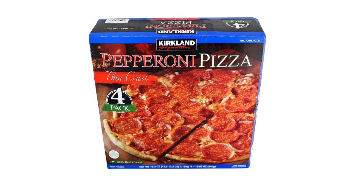 Kirkland Thin Crust Pepperoni Pizza 13 Best Frozen Foods From