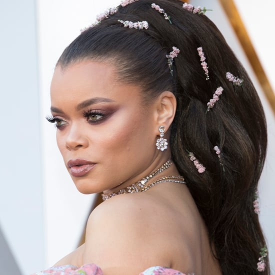 Andra Day Hair and Makeup at the Oscars 2018