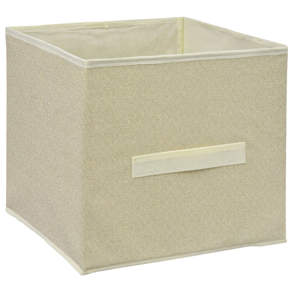 Essentials Tan Collapsible Storage Containers With Handles ($1 each)