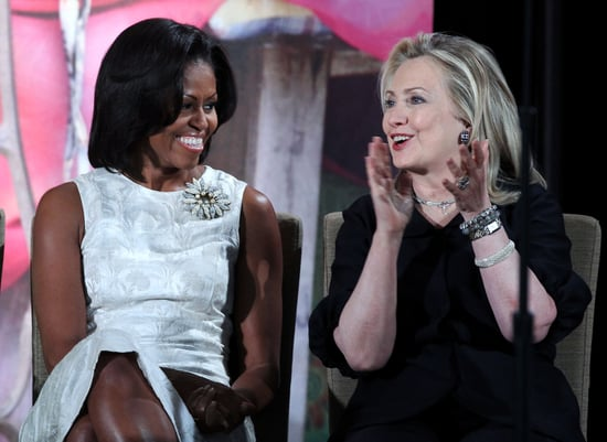 Michelle Obama and Hillary Clinton Campaign Together