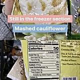 TJ's Mashed Cauliflower ($3)
