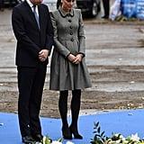 Kate Middleton's Catherine Walker Coat Dress November 2018