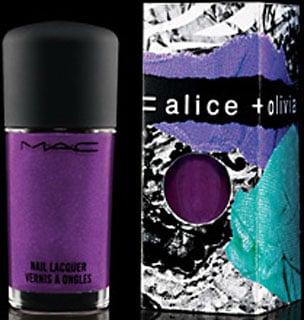 MAC Alice + Olivia Nail Polish Review