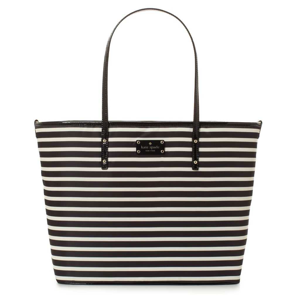Kate Spade Nylon Stripe Harmony Baby Bag ($320)