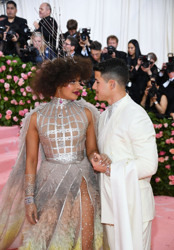 Nick Jonas and Priyanka Chopra at the 2019 Met Gala Pictures