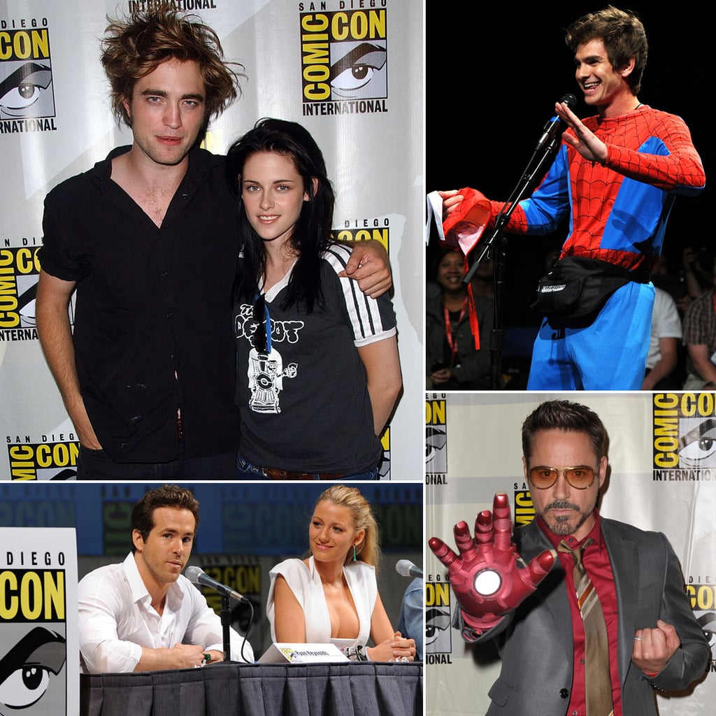 Celebrities at Comic-Con Over the Years | Pictures