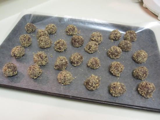 Bourbon Pecan Chocolate Truffles