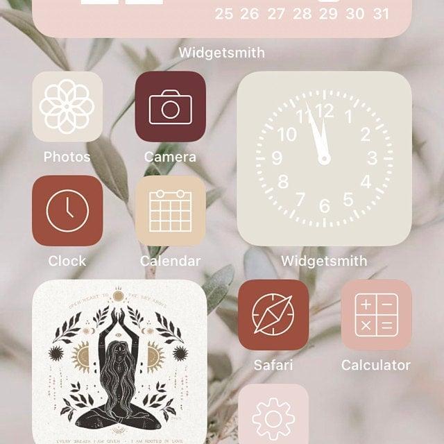 Neutral TikTok App Icon Pack
