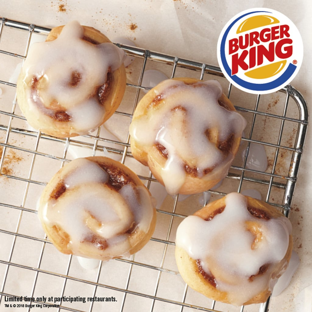 Burger King Cini Minis November 2018