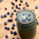 Banana Blueberry Hemp Seed Smoothie