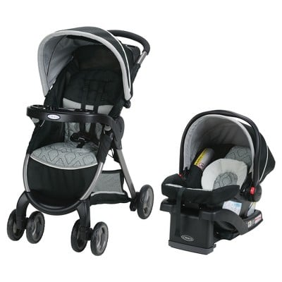 Graco's FastAction Fold Click Connect Travel System