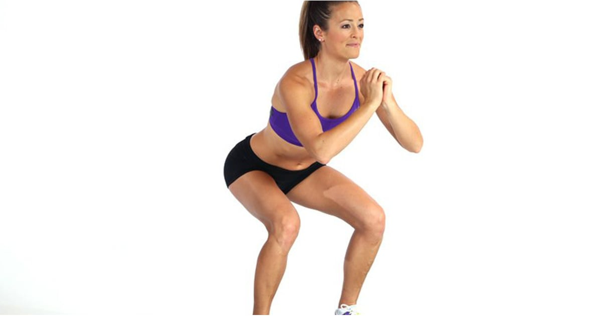 Here Is Exactly How to Do the Perfect Squat, According to a Fitness Instructor