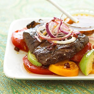 Fast & Easy Dinner: Chipotle Steak and Tomatoes