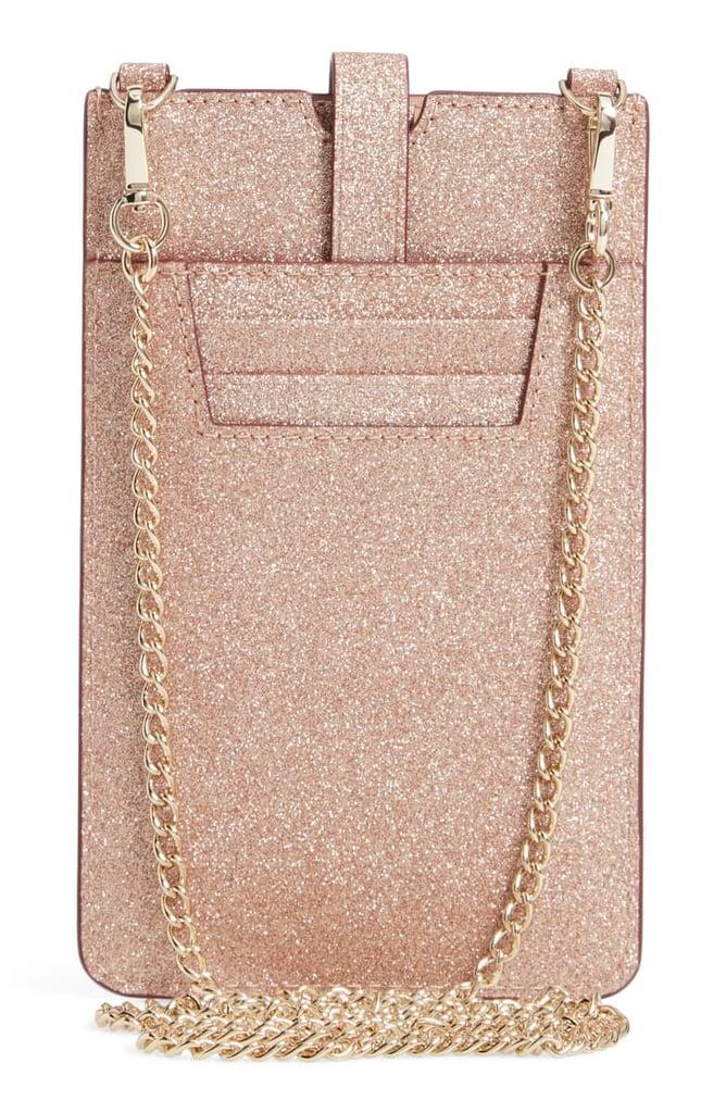 27ef26453ac Kate Spade New York Glitter Leather iPhone Crossbody Case | Best ...