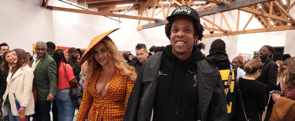 Beyonce Wears Ankara Suit to Art Show 2019