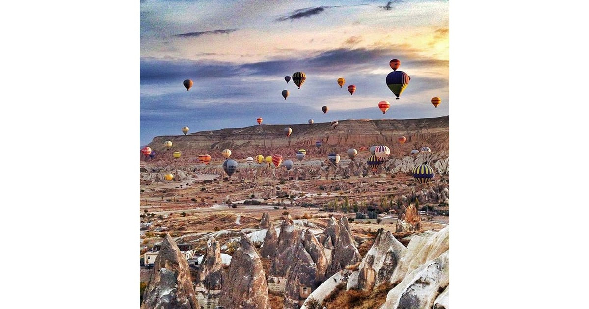 See Hot Air Balloons at Sunrise at Goreme Sunset Point in ...