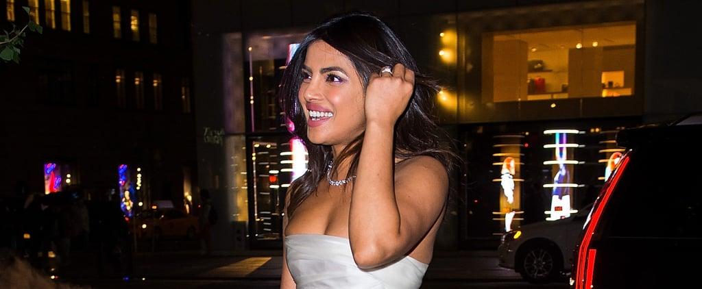 مكياج بريانكا شوبرا في حفل ما قبل الزفاف