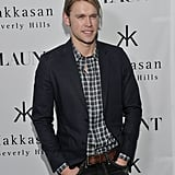 Chord Overstreet posed for pictures on the red carpet.