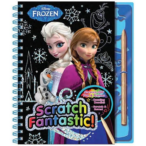 Disney Frozen Scratch Fantastic Activity Book