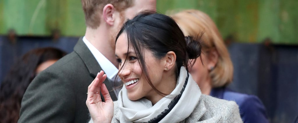 Meghan Markle Just Wore Your College Exam Day Messy Bun to a Royal Engagement