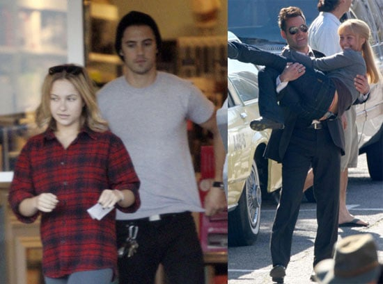 Photos of Hayden Panettiere Shopping with Milo Ventimiglia