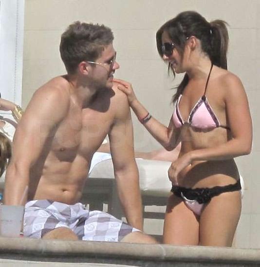 Pictures of Ashley Tisdale in a Bikini Enjoying PDA With Shirtless Boyfriend Scott Speer in Las Vegas