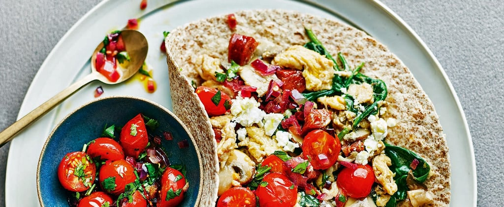 Clean Eating Alice Breakfast Wrap With Salsa