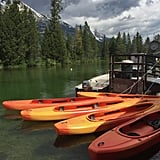 See Grand Teton National Park from the water.