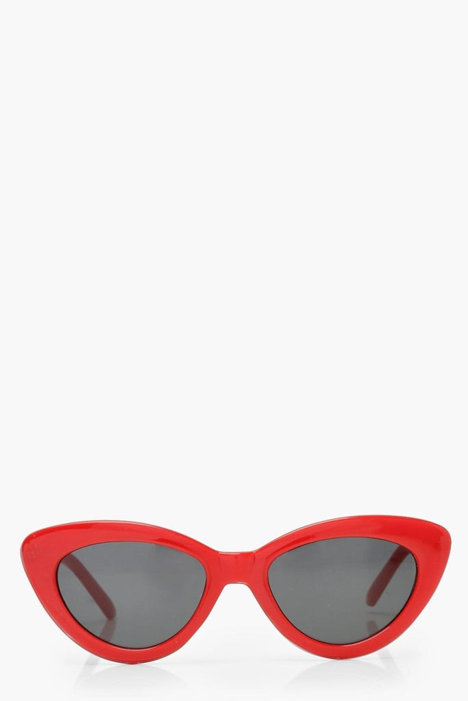 Boohoo Skinny Cat-Eye Sunglasses