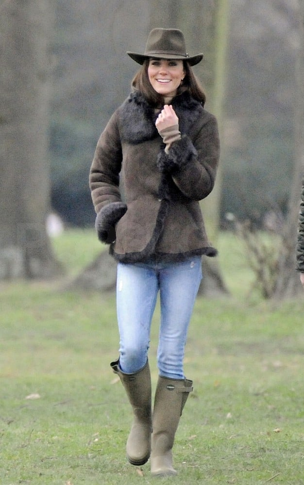 Kate Middleton Wore Le Chameau Boots Kate Middleton