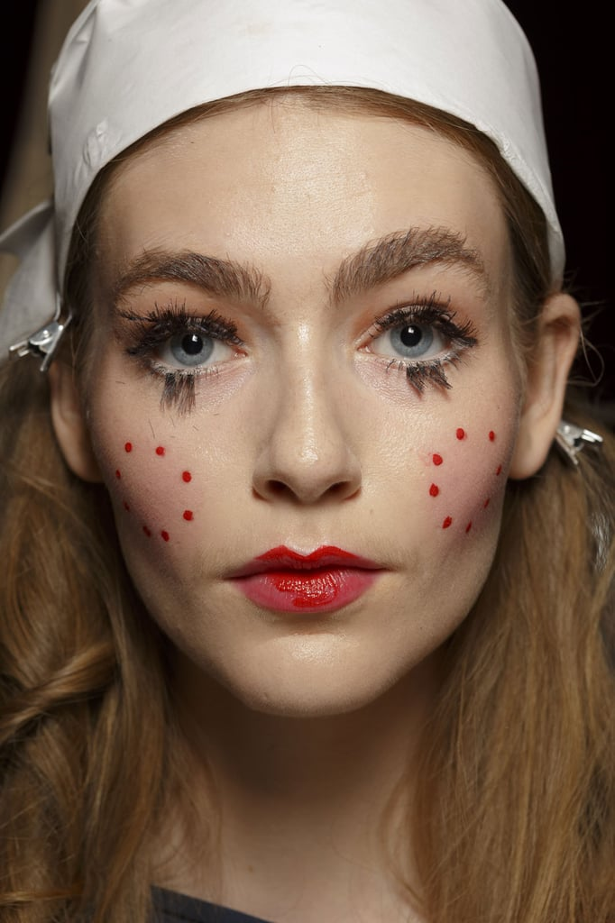 Paris Fashion Week Spring 2015 Hair Makeup Popsugar Beauty Australia