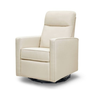 DaVinci Gabby Pillowback Swivel Glider