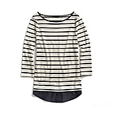 Tommy Hilfiger Knit-to-Woven Striped Tee ($24, originally $55)