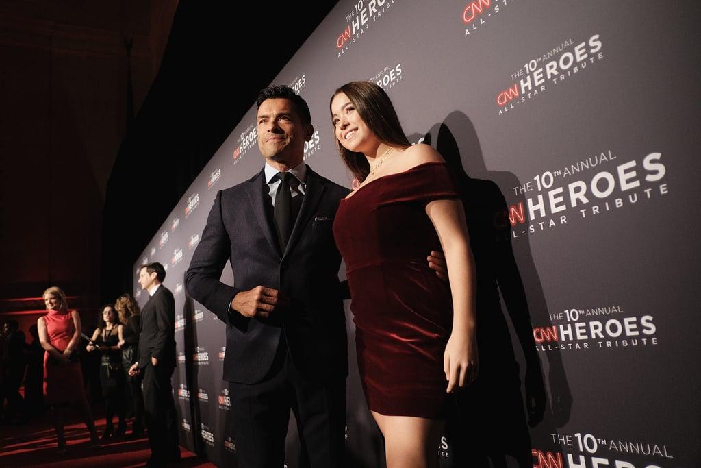 Mark Consuelos and Lola Consuelos at CNN Heroes Event 2016