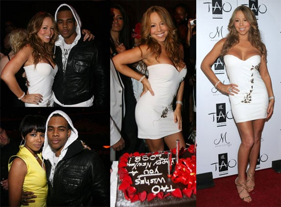 Mariah's Little White New Year's Eve