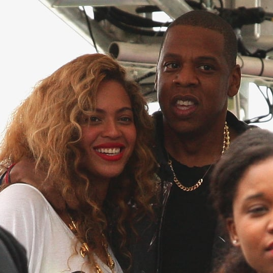 Cute Beyonce and Jay-Z PDA Pictures at Labor Day Made in America Festival