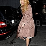 Blake Lively was dressed for a night out in NYC.